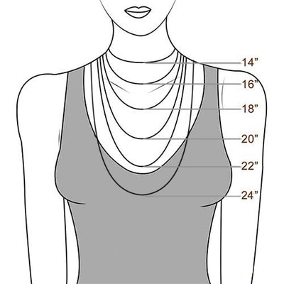 necklac chain length