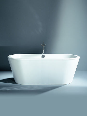Freestanding bathtub, 1750 x 800mm