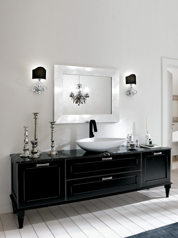 Complete bathroom vanity set
