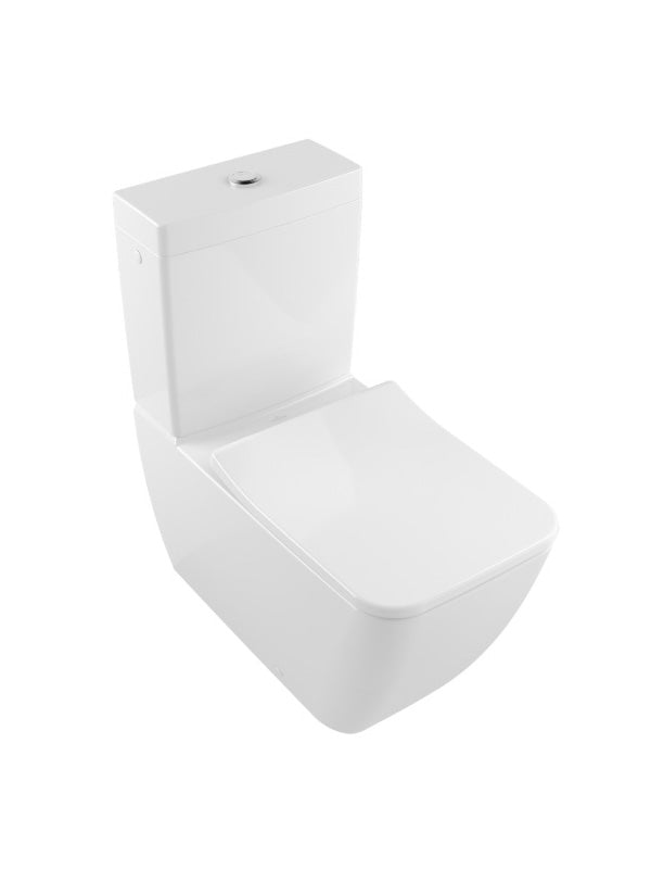 Floorstanding close-coupled WC suite