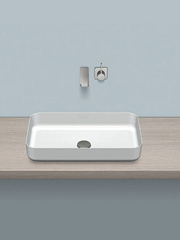 Dish washbasin, rectangular