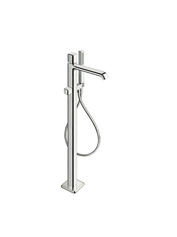 Floor mounted bath mixer