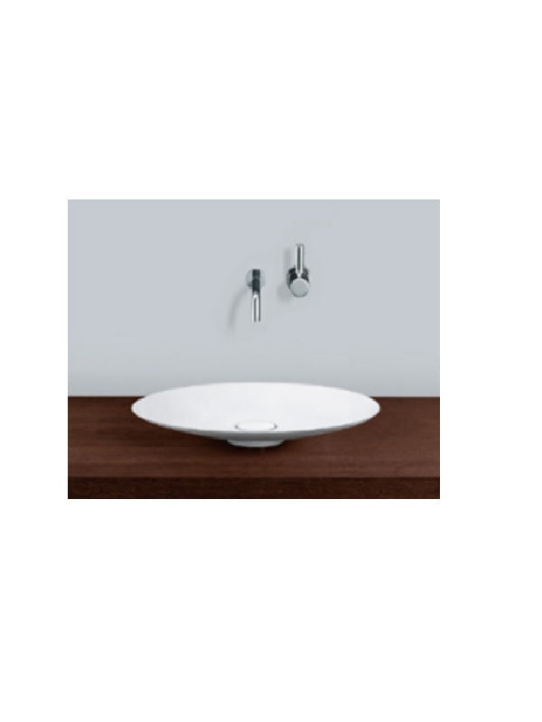 Countertop / dish washbasin, round
