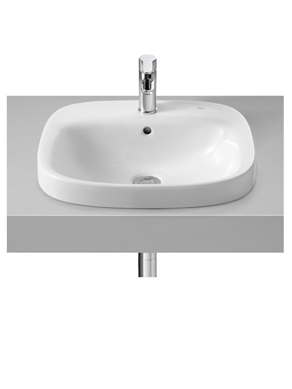 In countertop washbasin, square