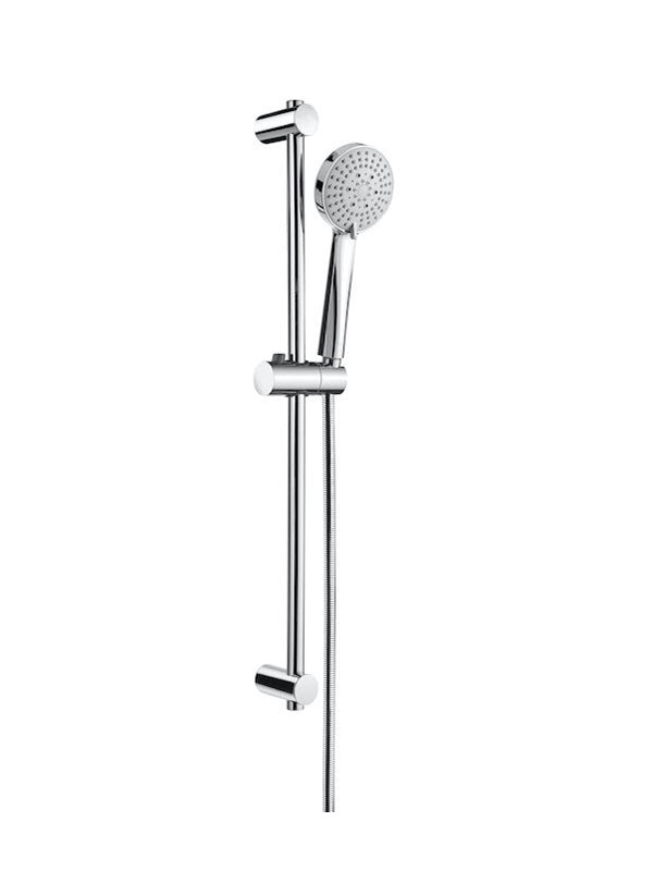 Shower kit with Stella 100/3 handshower with 3 functions
