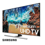 Samsung 55inches Series 8  flat 4K UHD LED Smart TV 55NU8000 Black