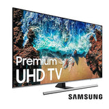 Samsung 65inches Series 8  flat 4K UHD LED Smart TV 65NU8000 Black