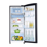 Samsung 192 Ltr 3 Star Direct Cool Single Door Refrigerator RR20N172YB8 Inverter Compressor
