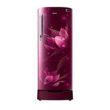 Samsung 192 Ltr 4 Star Direct Cool Single Door Refrigerator RR20N182XB8 Digital Inverter Technology
