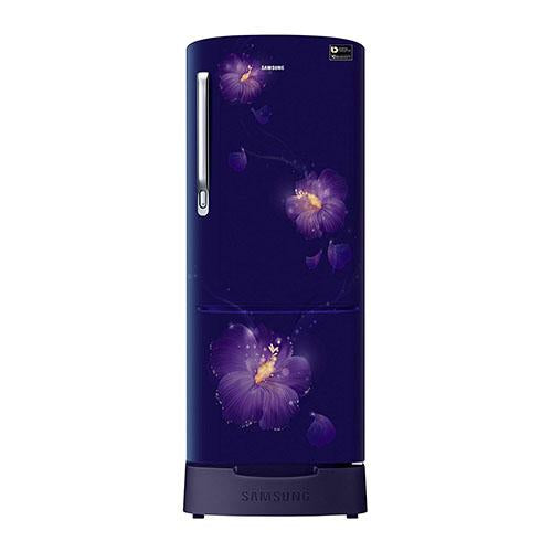 Samsung 192 Ltr 3 Star Direct Cool Single Door Refrigerator RR20N182ZU3 Digital Inverter Technology