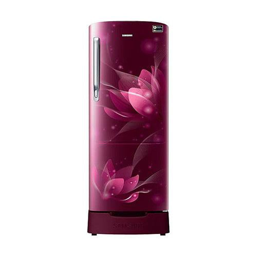Samsung 192 Ltr 4 Star Direct Cool Single Door Refrigerator RR20N282YR8 Digital Inverter Technology
