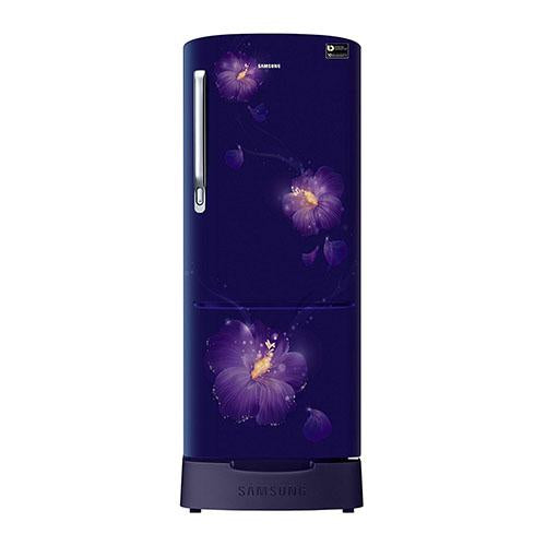 Samsung 192 Ltr 3 Star Direct Cool Single Door Refrigerator RR20N282ZU3 Digital Inverter Technology