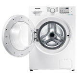 Samsung 8 kg- Fully-Automatic Front Loading Washing Machine WW80J4213KW