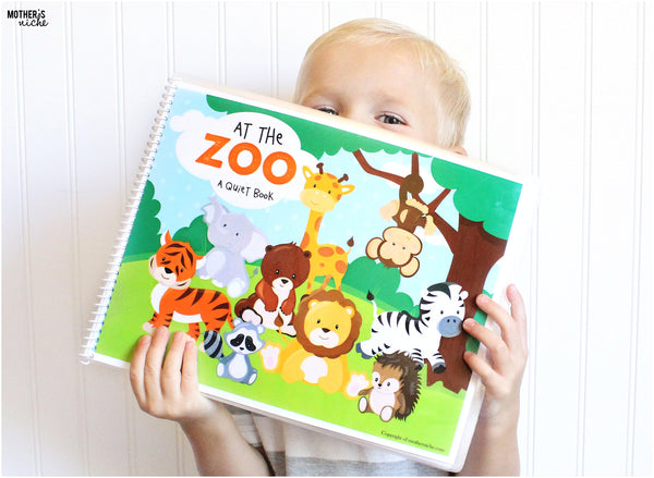 Zoo Quiet Book