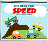 The CUTEST printable quiet book: CARS THEMED!