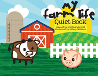 Farm Life Quiet Book