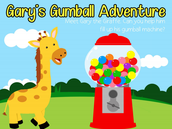 Gary's Gumball Adventure Play-Doh Mat