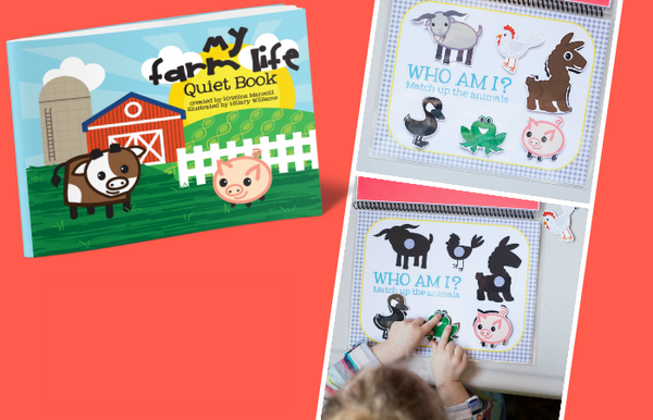 Printable Zoo Quiet Book