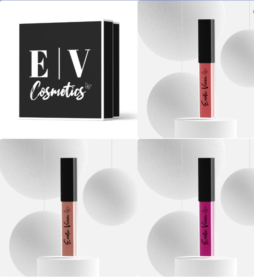 The Any Occasion Lip Box - Exotic Vixen Cosmetics