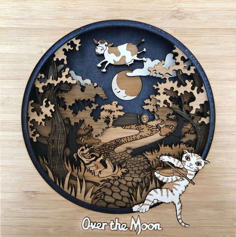Over The Moon WallArt