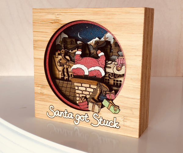 Santa Got Stuck! MiniArt