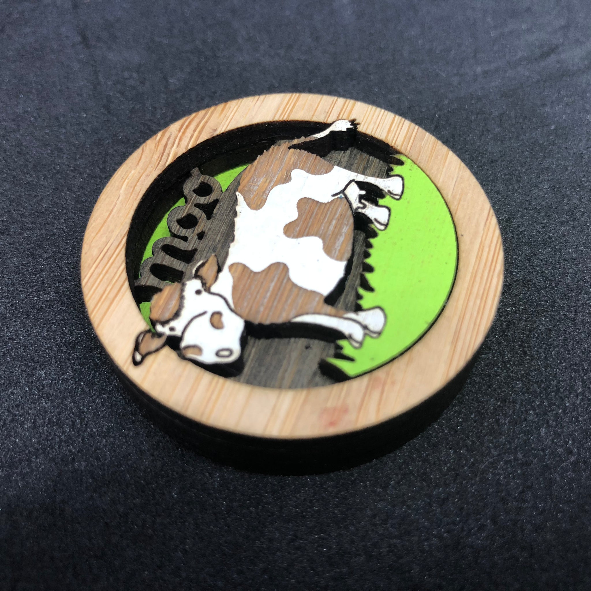'Moo' Cow Magnet