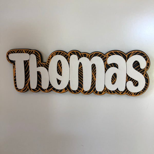 Custom Name Plaques - Mix and Match