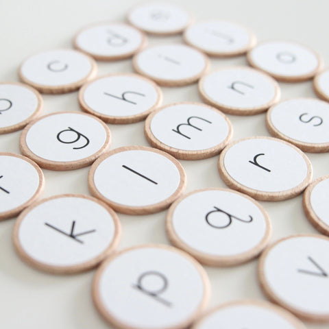 Additional Alphabet Matching Game Pieces