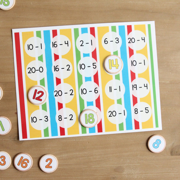 Number Matching Games