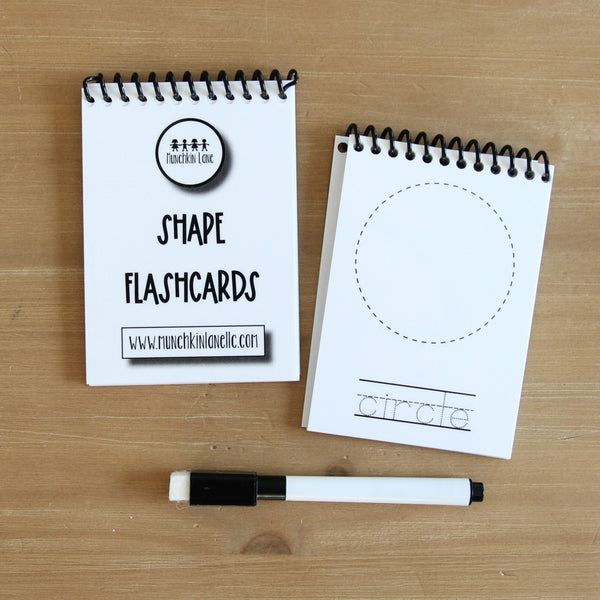 Dry Erase Flashcards