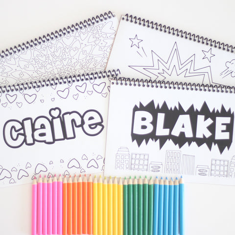 On-the-Go Personalized Color Book
