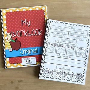 Original Preschool Workbook- No Name