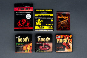 rocky anaconda stormer black bull libido sex pills