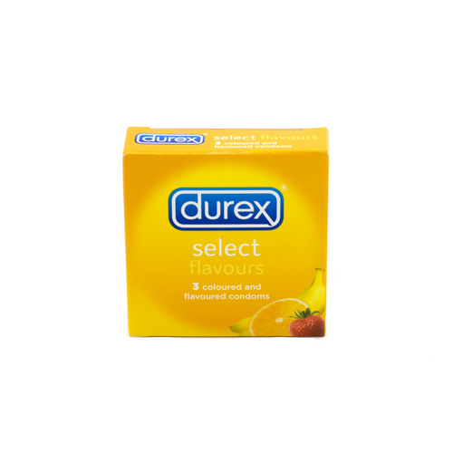durex condoms select flavours
