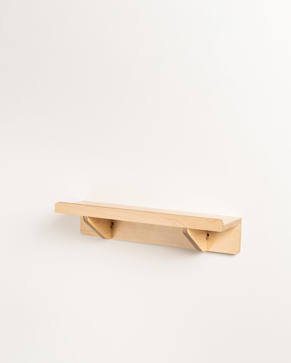 ON #2 | Flat shelf with edge - 15 cm deep