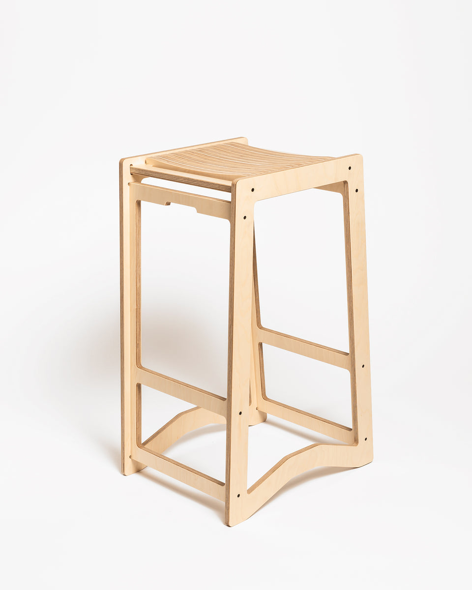 HEX #1 | High stool 73 cm - main view