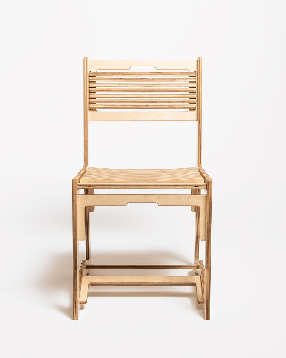 HEX #2 | Dining chair - front view