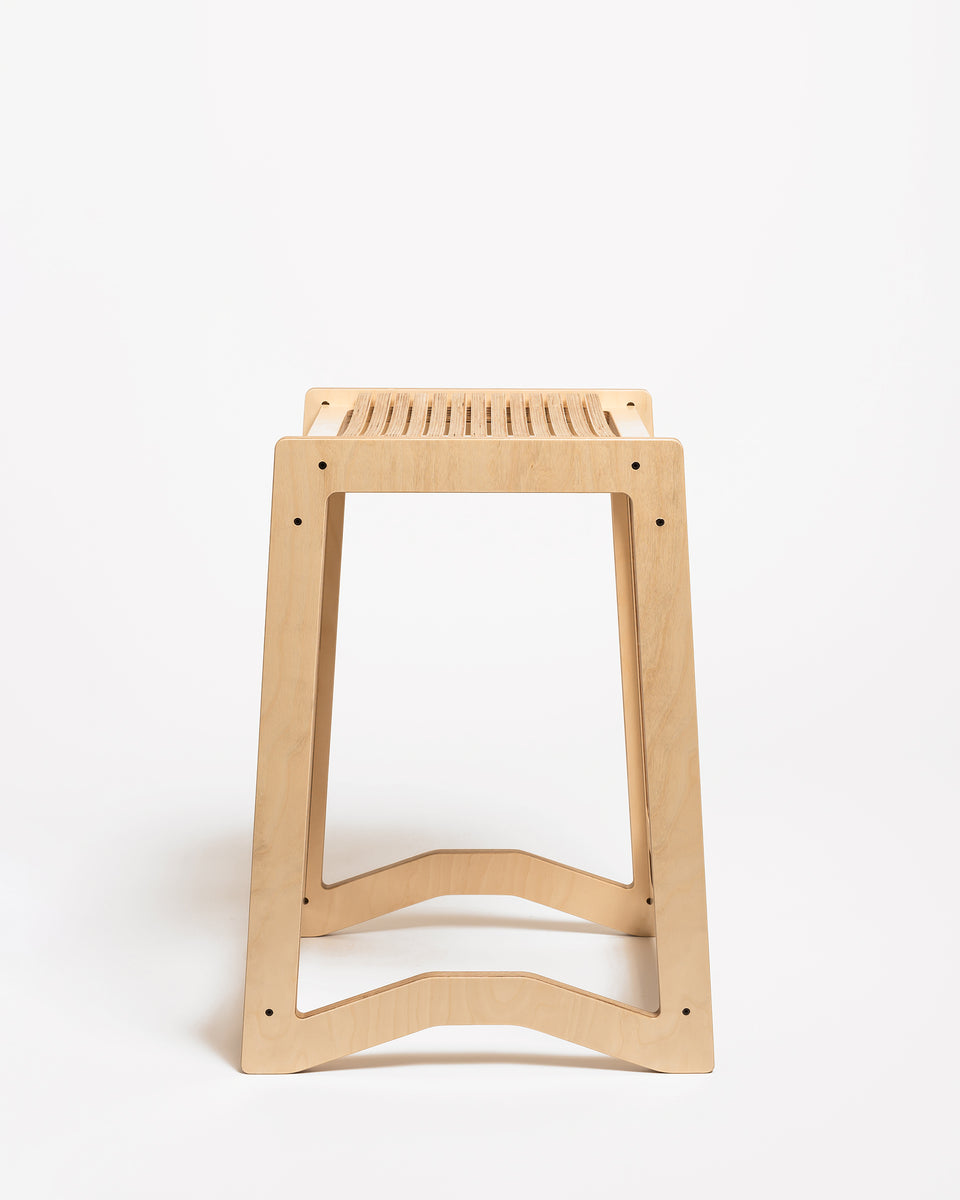 HEX #1 | High stool 62 cm - side view