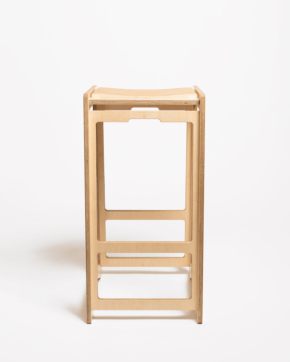 HEX #1 | High stool 73 cm - front view