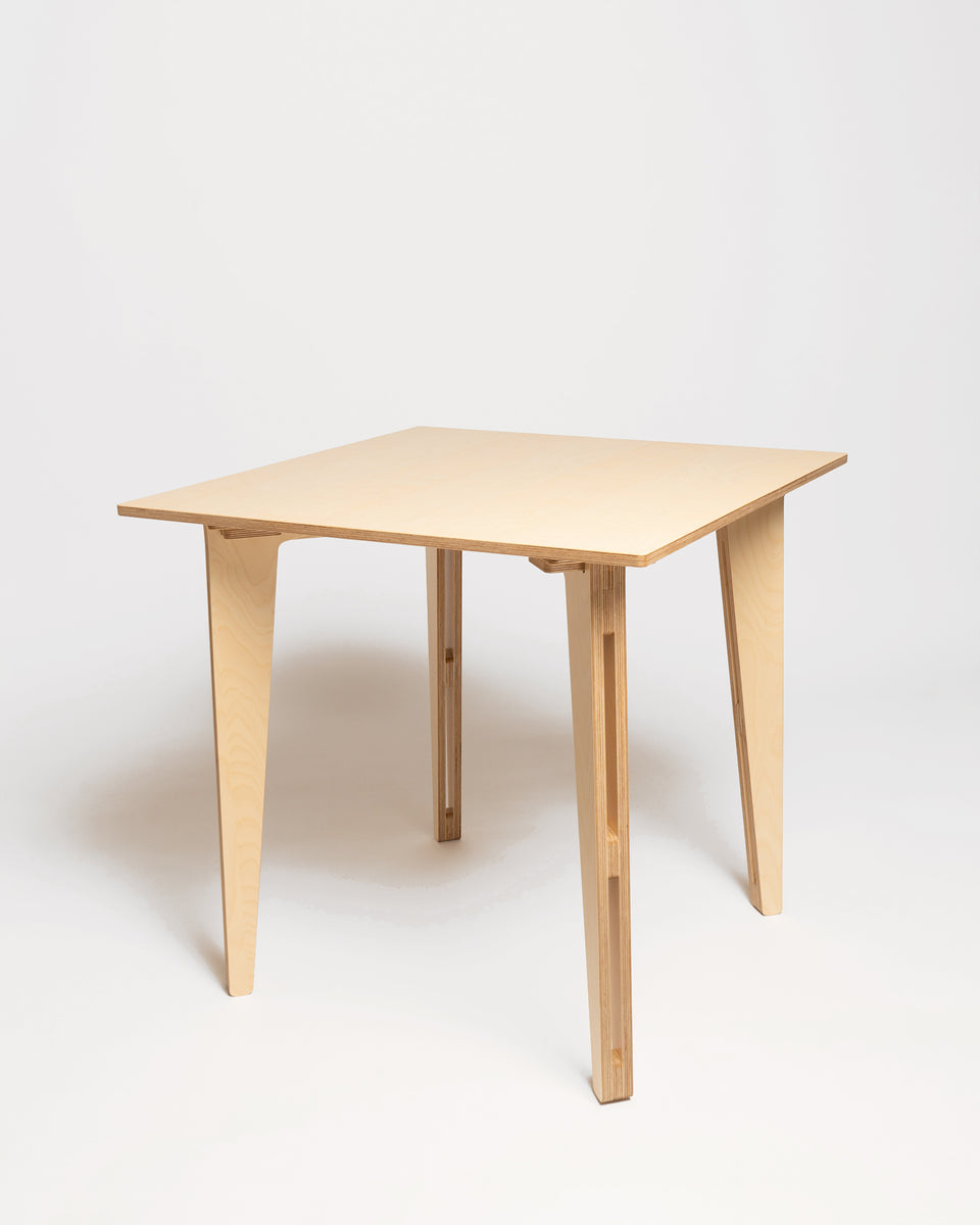 HEX #3 | Square table 80x80 cm - isometry