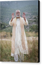 Load image into Gallery viewer, Sri Bhagavan Blessing - Canvas Print