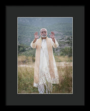 Load image into Gallery viewer, Sri Bhagavan Blessing - Framed Print