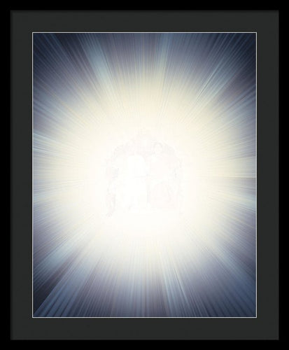 Supreme Light Of Supreme Love - Framed Print
