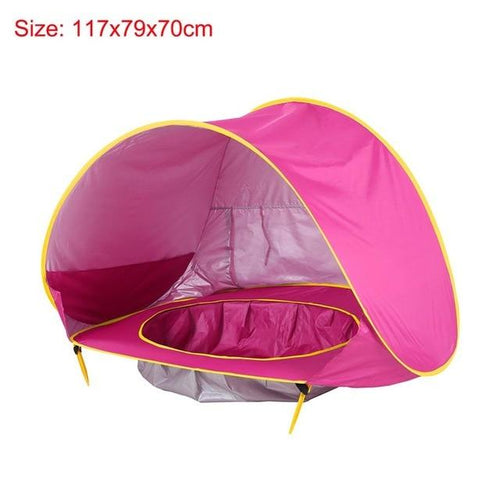 Baby Beach Tent Children UV-protecting Sun shelter with Pool - humblebeez boutique
