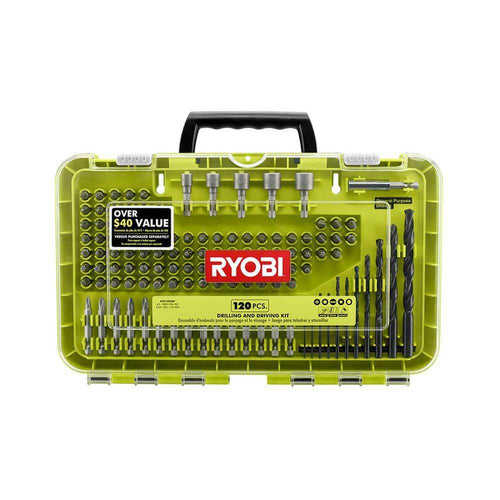 Ryobi Black Oxide Drilling and Driving Kit %product_description%