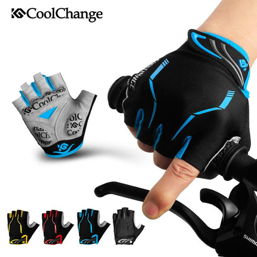 Shockproof Cycling Gloves Half Finger Mens Womens Summer Sports %product_description%
