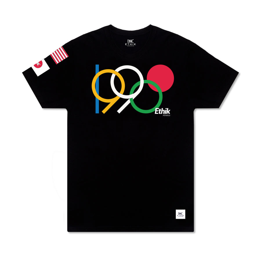 1990 World Champs Tee, Black