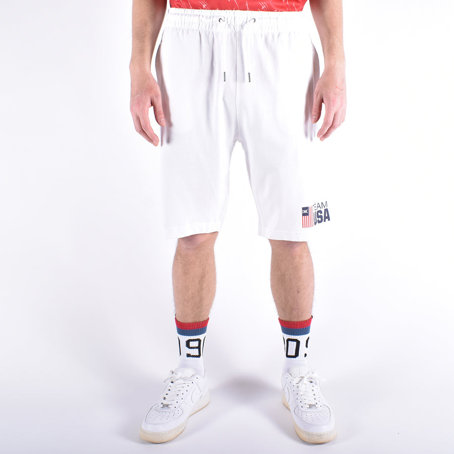 Team USA Shorts, White