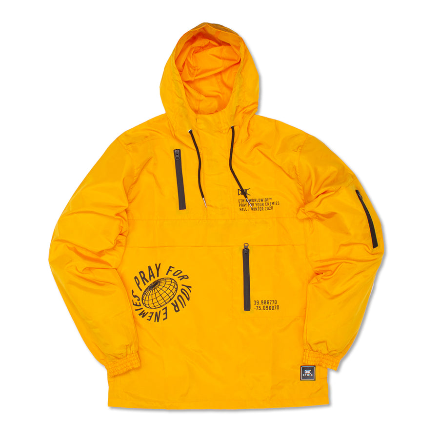 Elevated Tech Jacket, Yellow