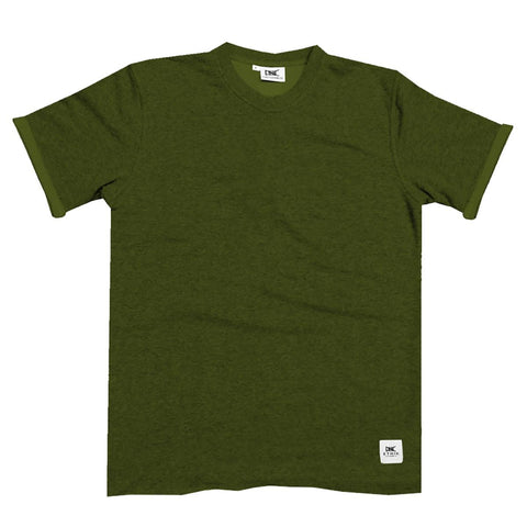 Ethik, French Terry Tee, Olive